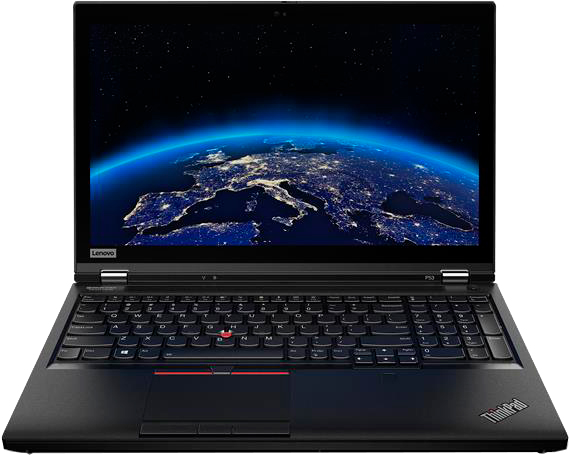 фото: Ноутбук ThinkPad P53 (20QN004YRT) черный